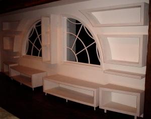 Celebrity custom cabinetry