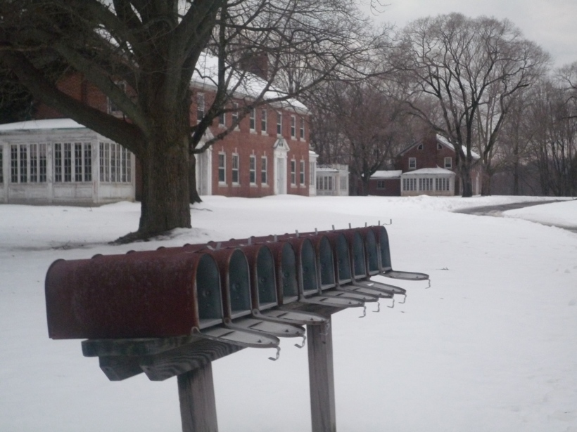 Abandoned Mailboxes.