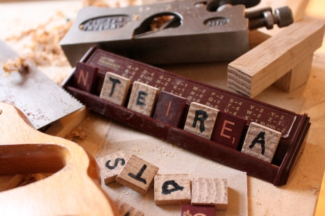 diy scrabble tile