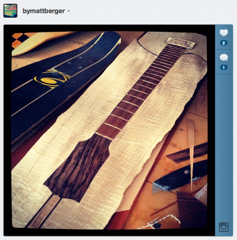 Guitar as Skateboard